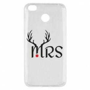 Xiaomi Redmi 4X Case Mrs deer