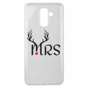 Samsung J8 2018 Case Mrs deer