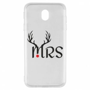 Samsung J7 2017 Case Mrs deer