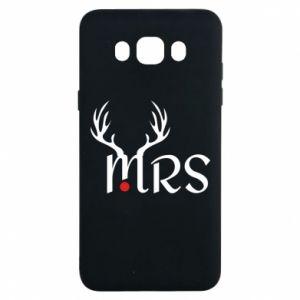 Samsung J7 2016 Case Mrs deer