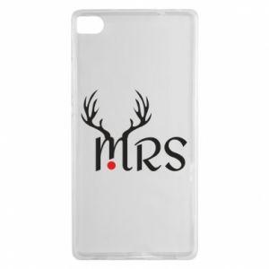 Huawei P8 Case Mrs deer