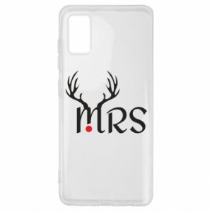 Samsung A41 Case Mrs deer