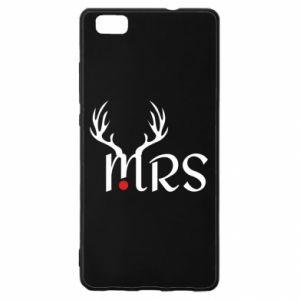 Huawei P8 Lite Case Mrs deer
