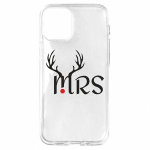 Etui na iPhone 12 Mini Mrs deer