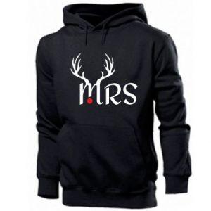 Men's hoodie Mrs deer