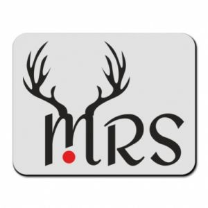 Mouse pad Mrs deer