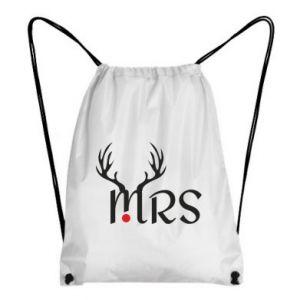 Backpack-bag Mrs deer