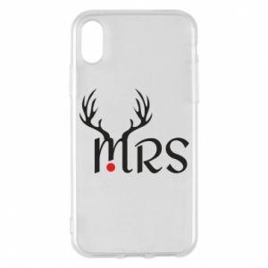 Etui na iPhone X/Xs Mrs deer