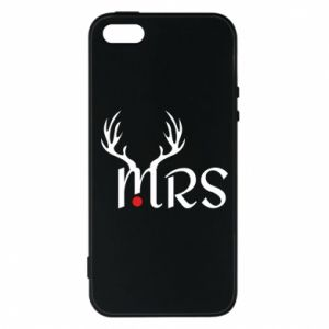 iPhone 5/5S/SE Case Mrs deer