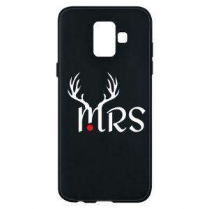 Samsung A6 2018 Case Mrs deer