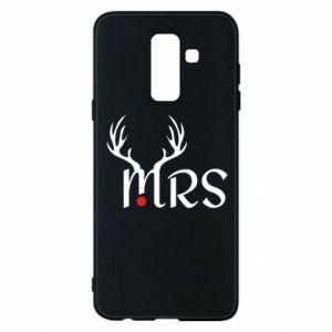 Samsung A6+ 2018 Case Mrs deer
