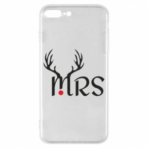 Phone case for iPhone 8 Plus Mrs deer