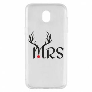 Samsung J5 2017 Case Mrs deer