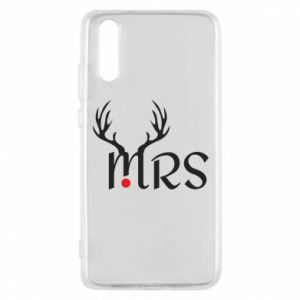 Phone case for Huawei P20 Mrs deer