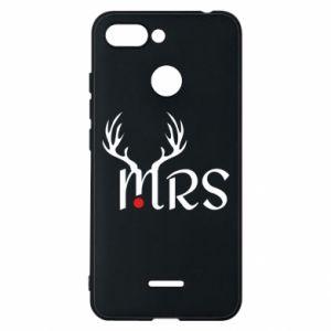 Xiaomi Redmi 6 Case Mrs deer