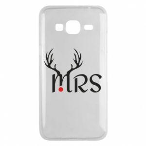 Phone case for Samsung J3 2016 Mrs deer
