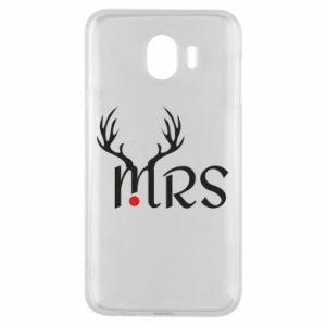Samsung J4 Case Mrs deer