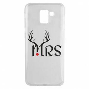 Samsung J6 Case Mrs deer