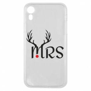Etui na iPhone XR Mrs deer