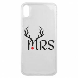 iPhone Xs Max Case Mrs deer