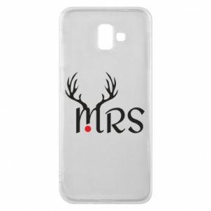 Samsung J6 Plus 2018 Case Mrs deer