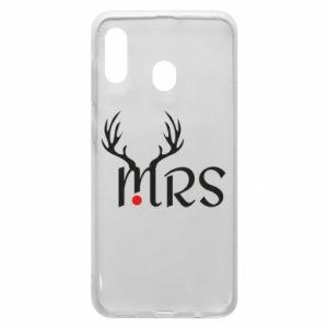 Samsung A20 Case Mrs deer
