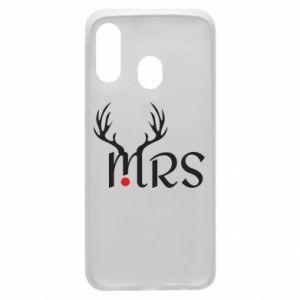 Phone case for Samsung A40 Mrs deer