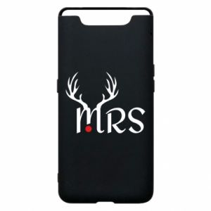 Samsung A80 Case Mrs deer