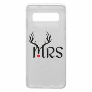 Samsung S10 Case Mrs deer