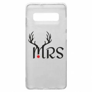 Samsung S10+ Case Mrs deer