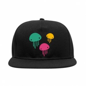 SnapBack Multi-colored jellyfishes - PrintSalon