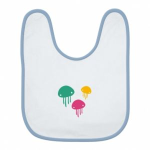 Bib Multi-colored jellyfishes - PrintSalon
