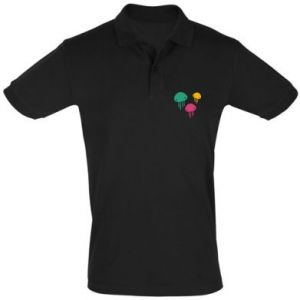 Men's Polo shirt Multi-colored jellyfishes - PrintSalon