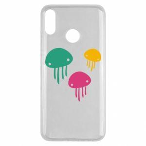 Etui na Huawei Y9 2019 Multi-colored jellyfishes