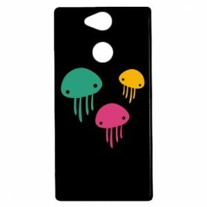 Etui na Sony Xperia XA2 Multi-colored jellyfishes