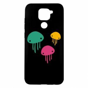 Etui na Xiaomi Redmi Note 9/Redmi 10X Multi-colored jellyfishes