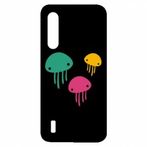 Etui na Xiaomi Mi9 Lite Multi-colored jellyfishes