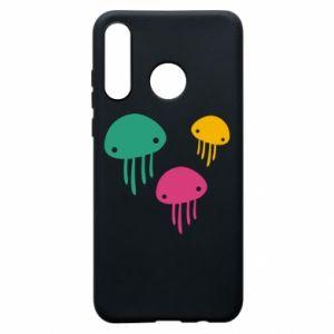 Etui na Huawei P30 Lite Multi-colored jellyfishes