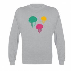 Bluza dziecięca Multi-colored jellyfishes