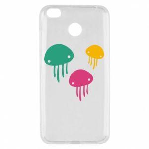 Etui na Xiaomi Redmi 4X Multi-colored jellyfishes