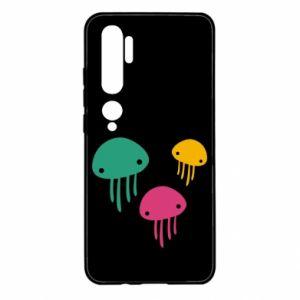 Etui na Xiaomi Mi Note 10 Multi-colored jellyfishes
