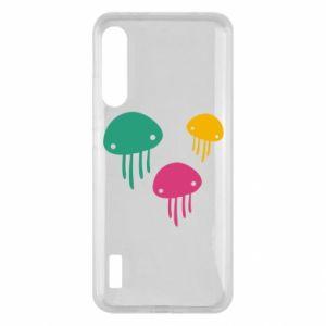 Etui na Xiaomi Mi A3 Multi-colored jellyfishes