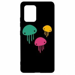 Etui na Samsung S10 Lite Multi-colored jellyfishes