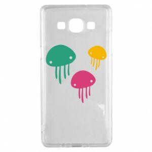 Etui na Samsung A5 2015 Multi-colored jellyfishes