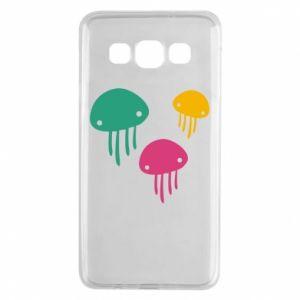 Etui na Samsung A3 2015 Multi-colored jellyfishes