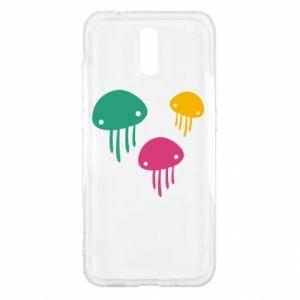 Etui na Nokia 2.3 Multi-colored jellyfishes