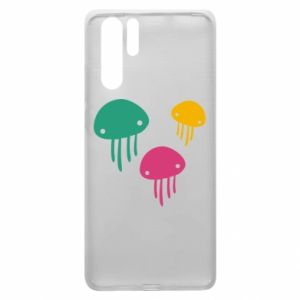 Etui na Huawei P30 Pro Multi-colored jellyfishes