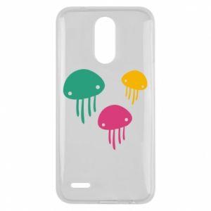 Etui na Lg K10 2017 Multi-colored jellyfishes