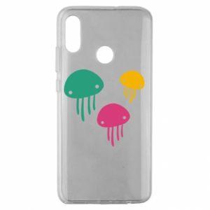 Etui na Huawei Honor 10 Lite Multi-colored jellyfishes