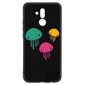 Etui na Huawei Mate 20 Lite Multi-colored jellyfishes